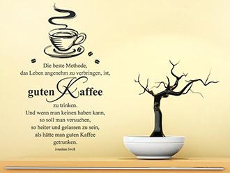 Wandtattoo Kaffee Motive für die Kaffee-Ecke | WANDTATTOO.DE