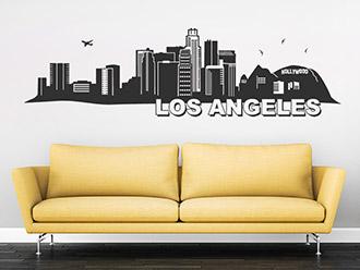 Wandtattoo Los Angeles Skyline