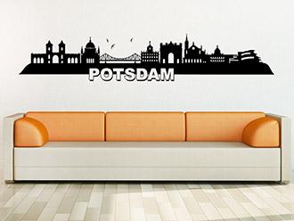 Wandtattoo Potsdam