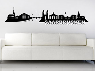 wandtattoo mainz skyline mit stadion wandtattoo de. Black Bedroom Furniture Sets. Home Design Ideas