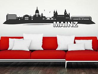 Wandtattoo Mainz