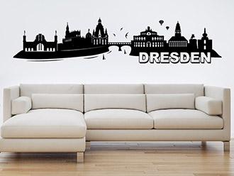 Wandtattoo Dresden