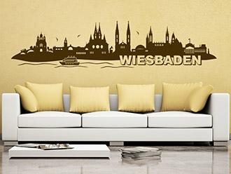 Wandtattoo Wiesbaden