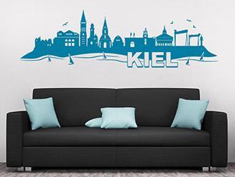 Wandtattoo Kiel