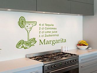 Wandtattoo Margarita