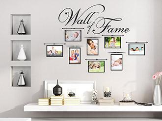 Wandtattoo Wall of Fame