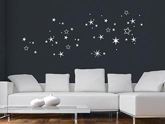weihnachten wandtattoos weihnachtsdeko f r w nde wandtattoo de. Black Bedroom Furniture Sets. Home Design Ideas