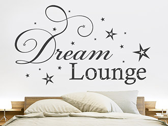 Wandtattoo Dream Lounge