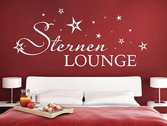Wandtattoo Sternen Lounge