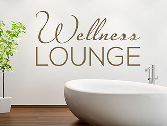 Wandtattoo Elegante Wellness Lounge