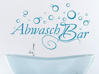 Wandtattoo Abwaschbar
