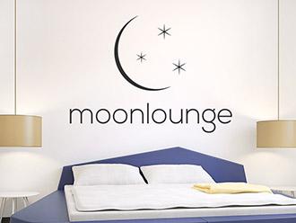 Wandtattoo Moonlounge