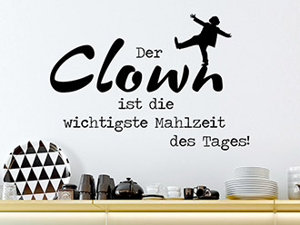 Wandtattoo Der Clown ...