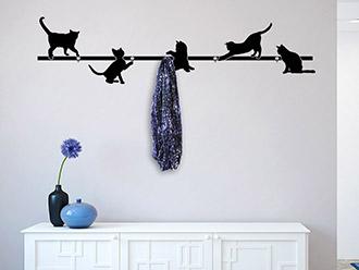 Garderobe Katzen