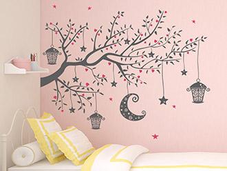 Kinderzimmer Wandtattoos | schöne Motive | WANDTATTOO.DE