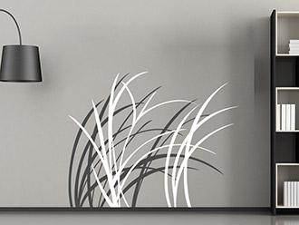wandtattoo moderne b ume von. Black Bedroom Furniture Sets. Home Design Ideas