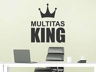 Wandtattoo Multitasking