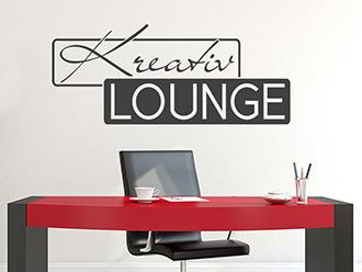Wandtattoo Kreativ Lounge