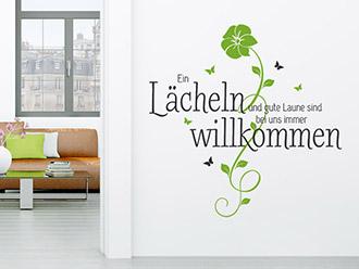 Charming ... Spruch Wandtattoo Im Flur Ebenfalls Außergewöhnlich. Updated: ...