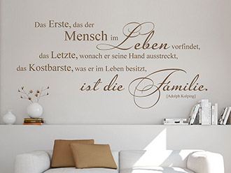 wandtattoos f r die familie familienspr che wandtattoo de. Black Bedroom Furniture Sets. Home Design Ideas