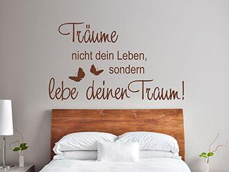 Schlafzimmer Sprüche Für Die Wand – neckcream.co