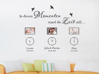 awesome wandtattoos für wohnzimmer images - house design ideas