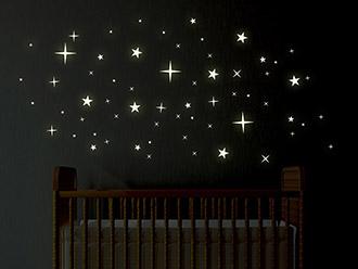 Wandtattoo Leuchtsterne