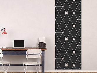 Wandtattoo Banner Geometrische Muster