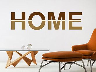 Wandtattoo Home modern