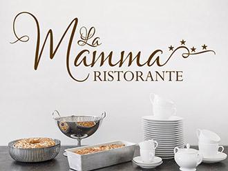 Wandtattoo La Mamma Ristorante