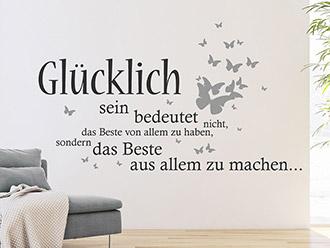 motivierende wandtattoo spr che motivation wandtattoo de. Black Bedroom Furniture Sets. Home Design Ideas