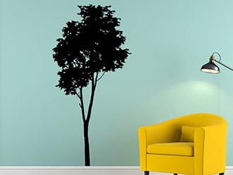 Wandtattoo Baum Silhouette
