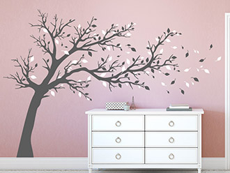 wandtattoo b ume von baum wandtattoos. Black Bedroom Furniture Sets. Home Design Ideas