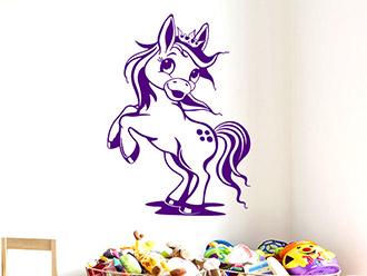 Wandtattoo Süßes Pferdchen