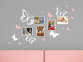 Kinderzimmer wandgestaltung schmetterling  Wandtattoos für das Kinderzimmer | schöne Motive | WANDTATTOO.DE