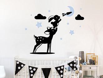 Babyzimmer Wandtattoos - süße Motive mit Babynamen ...