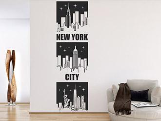 Wandtattoo Banner New York City