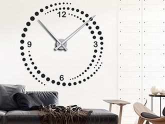 Wandtattoo Uhr Wirbel