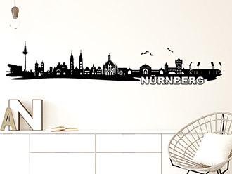 Wandtattoo Nürnberg
