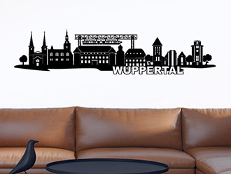 Wandtattoo Wuppertal