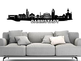 Wandtattoo Darmstadt