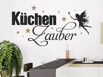 Wandtattoo Küchenzauber