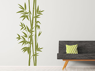Wandtattoo XXL-Bambus