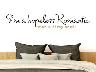 Wandtattoo Hopeless Romantic