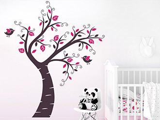 Wandtattoo Kinderbaum