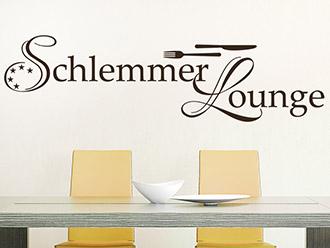 Wandtattoo Schlemmer Lounge