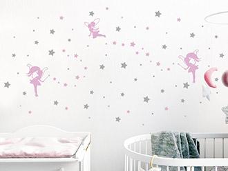 Kinderzimmer wandgestaltung feen  Kinderzimmer Wandtattoos | schöne Motive | WANDTATTOO.DE