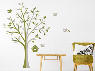 Wandtattoo Kreativer Baum