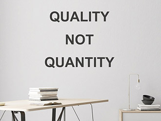 Wandtattoo Quality