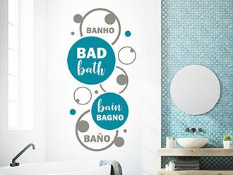 Wandtattoos fürs Bad   Badezimmer   WANDTATTOO.DE